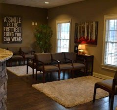 waiting area at Engineered Smiles Dental Care
